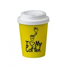 Copo Café com Tampa Personalizado 350ml SG06