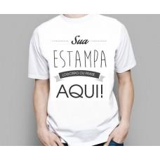 Camiseta Básica Algodão PMG